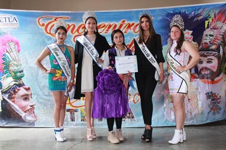 "Carnaval Tetla 2019 ya tiene reina ""Anayeli I"" de Capulac"