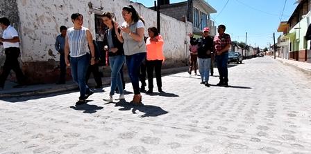 Realizan rehabilitación integral de calle del centro histórico