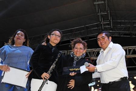 Banda Infantil y Juvenil de Totolac celebró aniversario con concierto