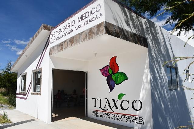 En tres años Tlaxco ha ejecutado más de 200 obras de salud
