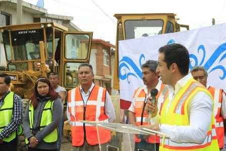 Llega la obra pública a comunidad de La Aurora de Tepeyanco