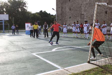 Convocan a segundo tornero de futbolito varonil en Tepeyanco