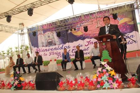 Con desfile inició la feria del Comal Tzompantepec 2017