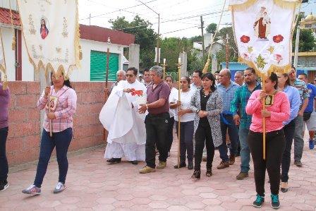Alcaldesa inaugura explanada de la capilla de los Niños Mártires