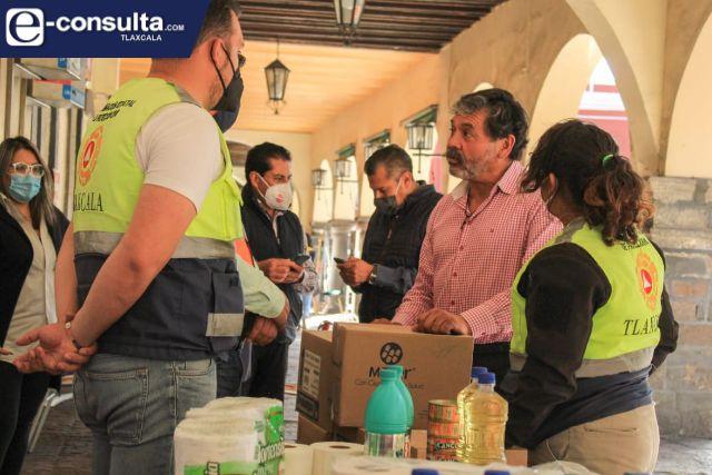 Fundación Tlaxcala 2030 A.C. entrega ayuda humanitaria a damnificados por lluvias en Tabasco