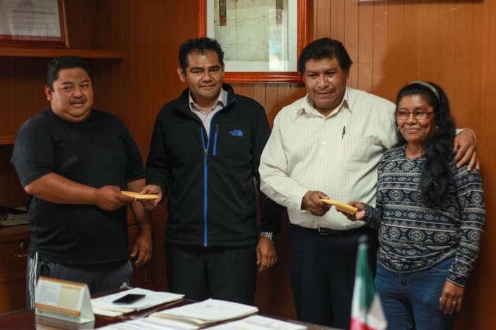 Panaderos y autoridades de Totolac trabajan unidos para las fiestas patronales