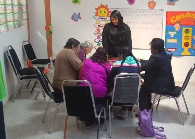 Imparten taller motivacional para adultos mayores en IMTPD