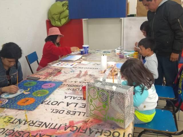 Promueve alcaldía capitalina arte en dibujo y pintura a través de taller
