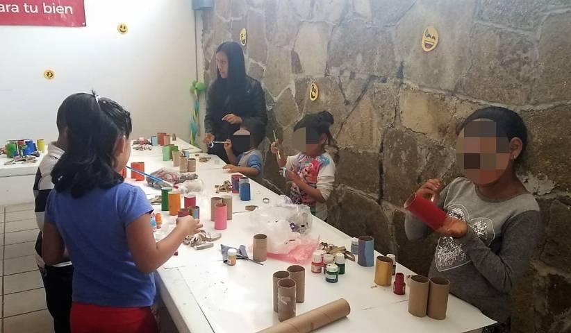 """Brindan taller """"Educación Emocional"""" para niñas y niños en IMM de la capital"""