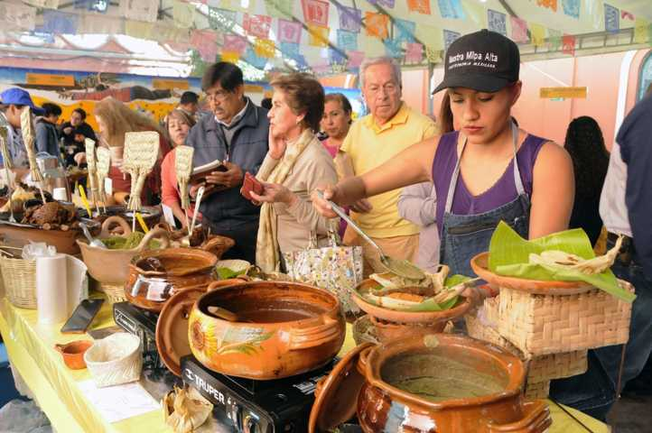 Tlaxcala presente en la XVIII Feria del Tamal de la CDMX
