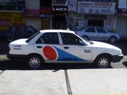 Incontrolable el robo de unidades, Ahora se llevan taxi en Apizaco