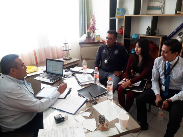 Programa FGR jornada de prevención del delito en San José Teacalco
