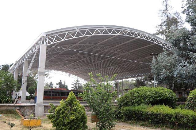 Invierte Huamantla 1.2 mdp en infraestructura educativa del CBTIS 61