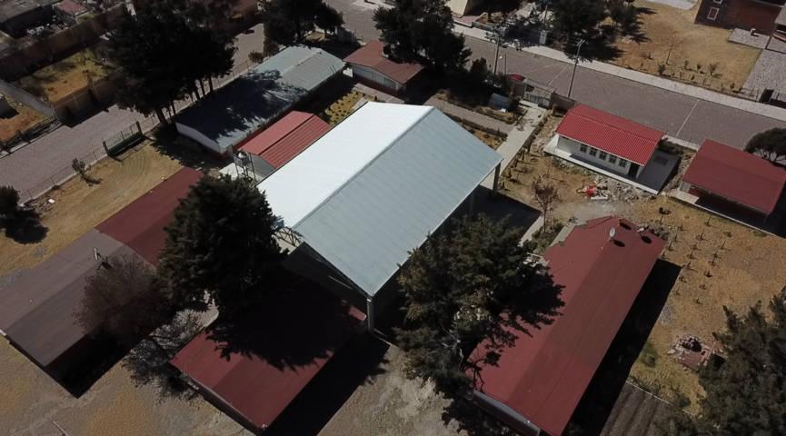En primer año Tlaxco construye 9 techumbres con una inversión de 7.5 mdp