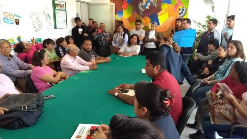 Dialoga SEPE con maestros de telesecundaria