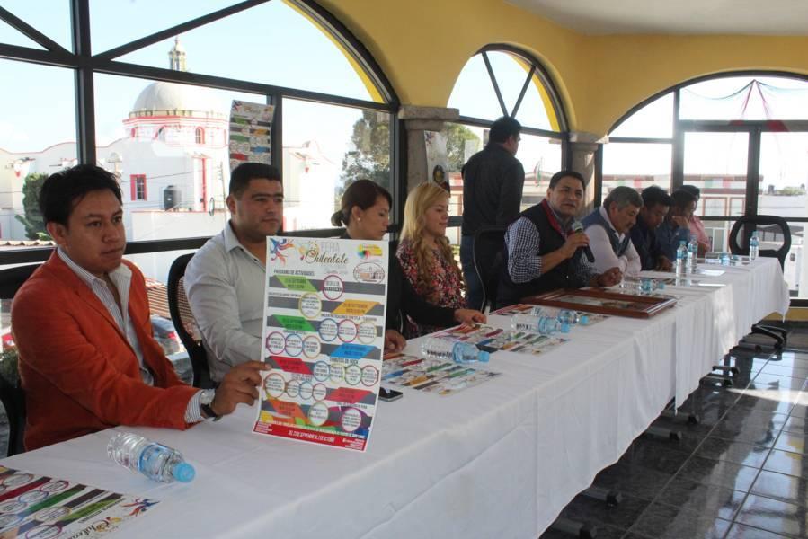 Anuncia alcalde Feria del Chileatole en su tercera edición