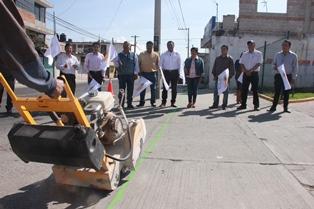 Alcalde impulsa el desarrollo del municipio