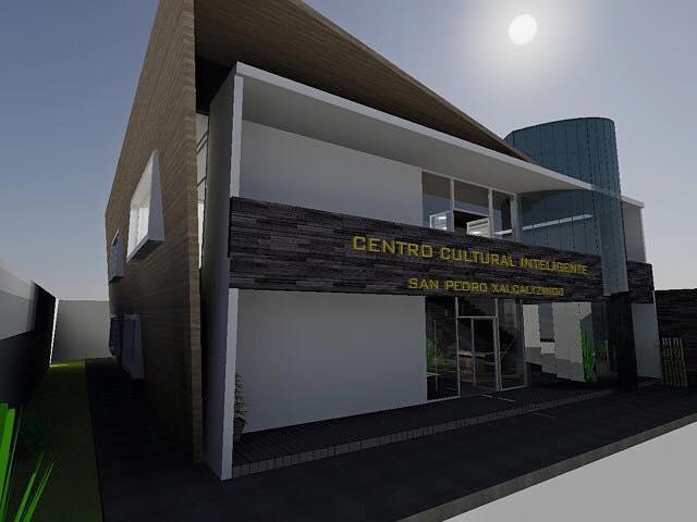 Inicia construcción de Centro Cultural Inteligente