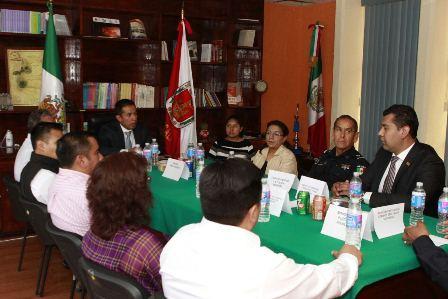 Integran Consejo Municipal de Seguridad en Tepeyanco