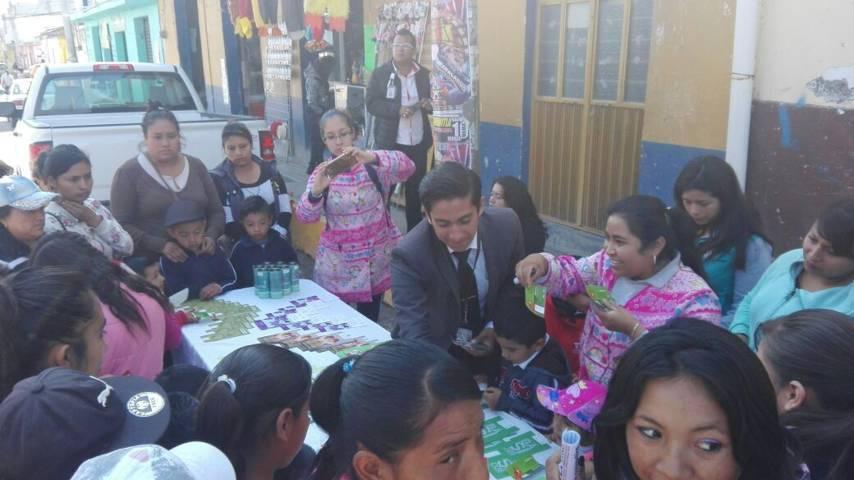 Realizan acciones de prevención PGR Tlaxcala en el Carmen Tequexquitla