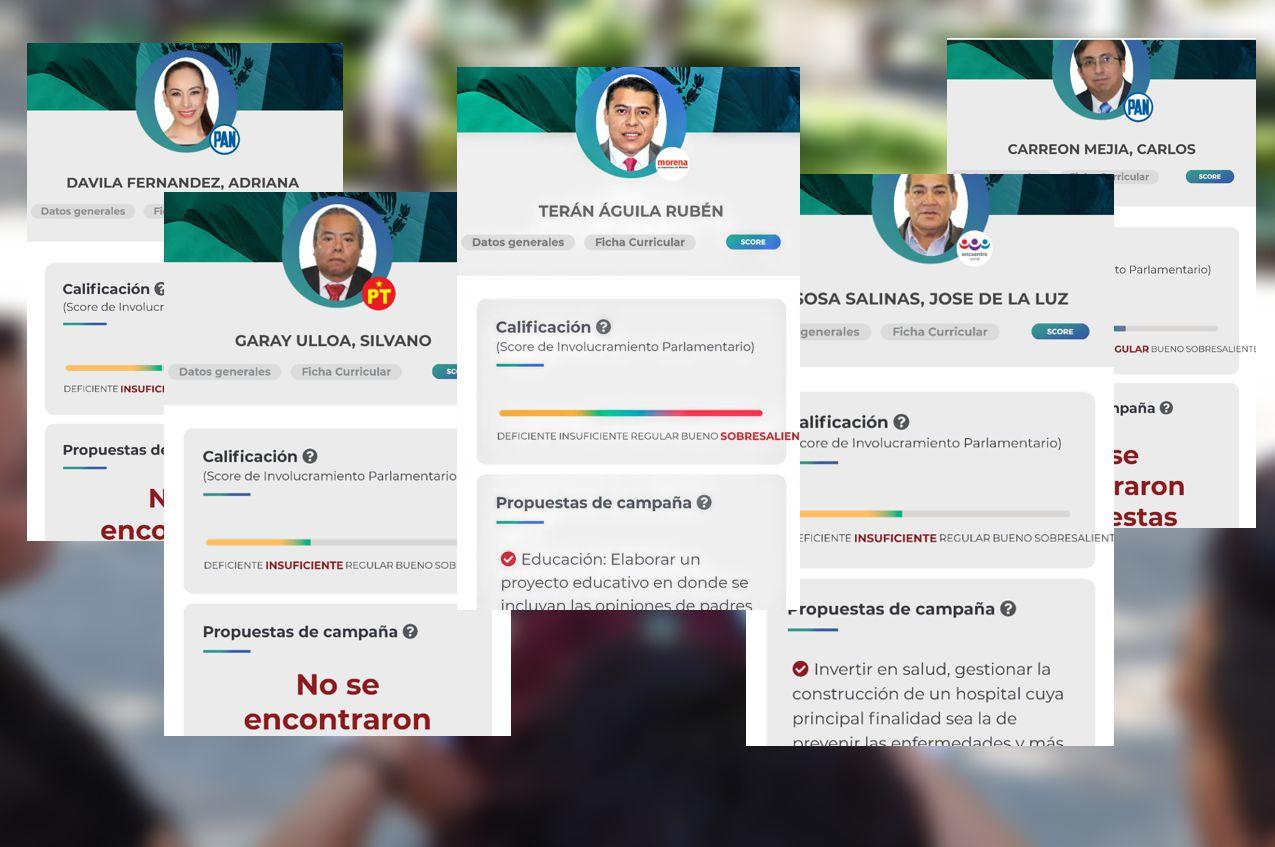 Reprobados los diputados federales de Tlaxcala