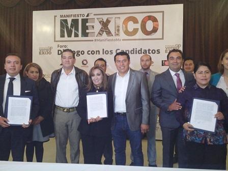 El morenista Rubén Terán sale fortalecido del foro Coparmex