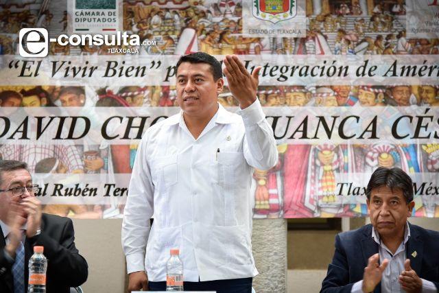 Rubén Terán, invitado para toma de protesta del presidente y vicepresidente de Bolivia