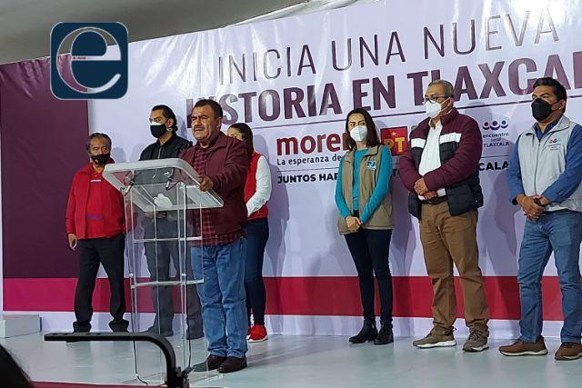 Lorena Cuéllar es la nueva gobernadora de Tlaxcala: Armando Contreras