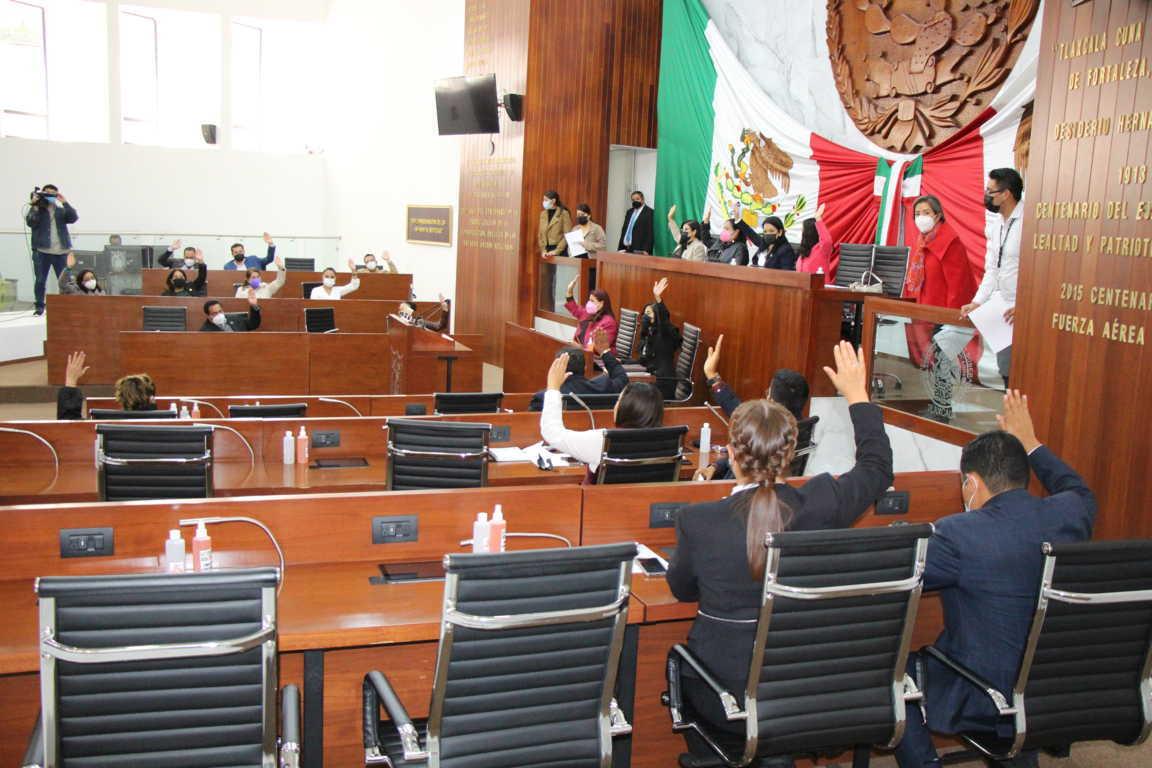 Aprueba Congreso de Tlaxcala Ley de Ingresos del ejercicio fiscal 2021