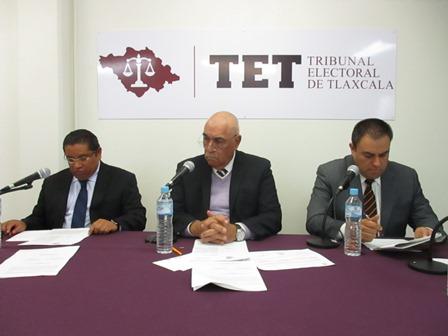 Inicia TET sesiones en vivo de sus sesiones de Pleno