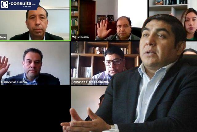 Edil de Totolac pierde batalla legal contra presidentes de comunidad