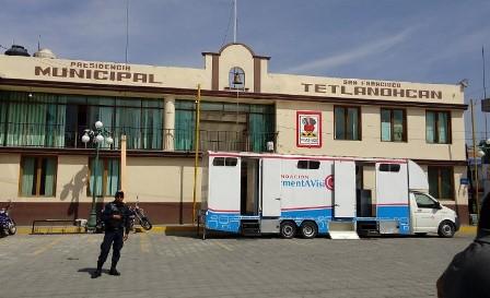 Pide apoyo alcalde de Tetlanohcan para enfrentar tala clandestina