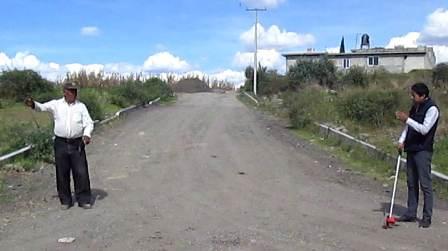 Con importe de cien mil pesos, obra pública para Tetlanohcan
