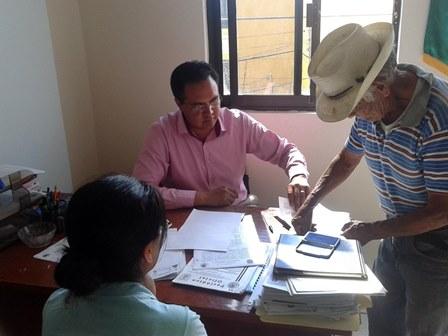 Apoya Juzgado municipal regularización de predios
