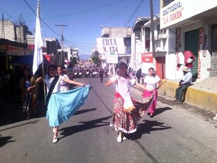 Conmemoran 105 aniversario de la Revolución Mexicana