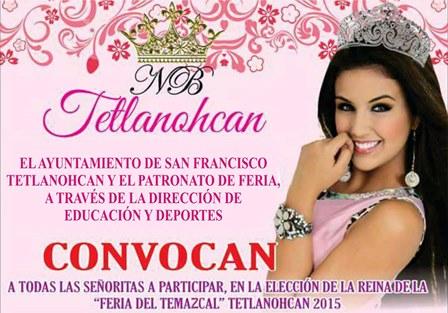 Lanzan convocatoria para buscar reina en Tetlanohcan