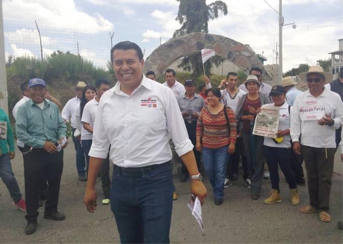 El mejor ejército es el que no es pagado, por eso en Morena vamos a ganar: Rubén Terán