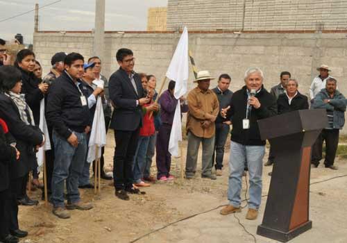 "Inician nueva obra en Texoloc; rehabilitaran calle ""Los Pirules"""