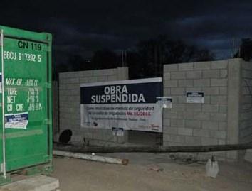 Se registra conato de bronca en Texoloc por obra suspendida