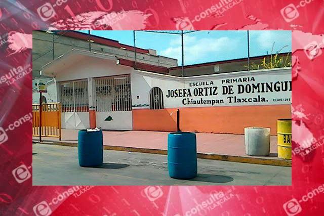 Todas las escuelas en Tlaxcala serán sometidas a desinfección