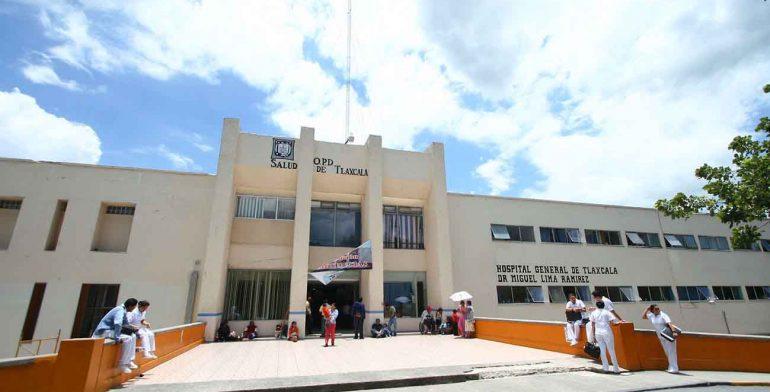 Abastece Hospital General de Tlaxcala insumos para atención de pacientes