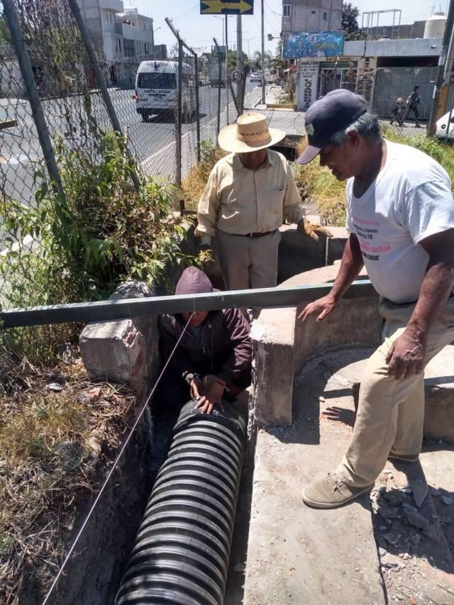 Avanza Mantenimiento en Pozo Mixto No.1 en Guardia Zacatelco