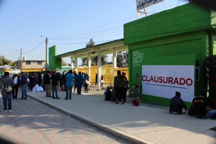 "Le Clausuran Centro Turístico de Zacatelco a Comisariado Ejidal ""Patito"""