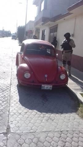 Se recupera vehículo con reporte de robo en Chiautempan