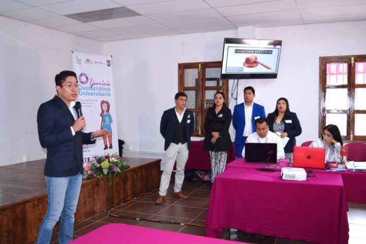 Proponen estudiantes de la UVT y unam herramientas para alentar participación ciudadana