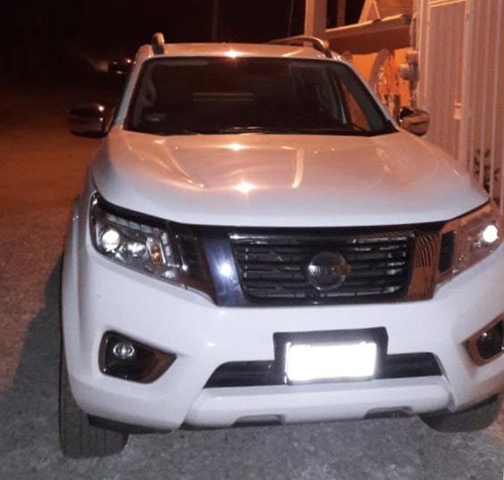 Recuperan camioneta con reporte de robo en Puebla