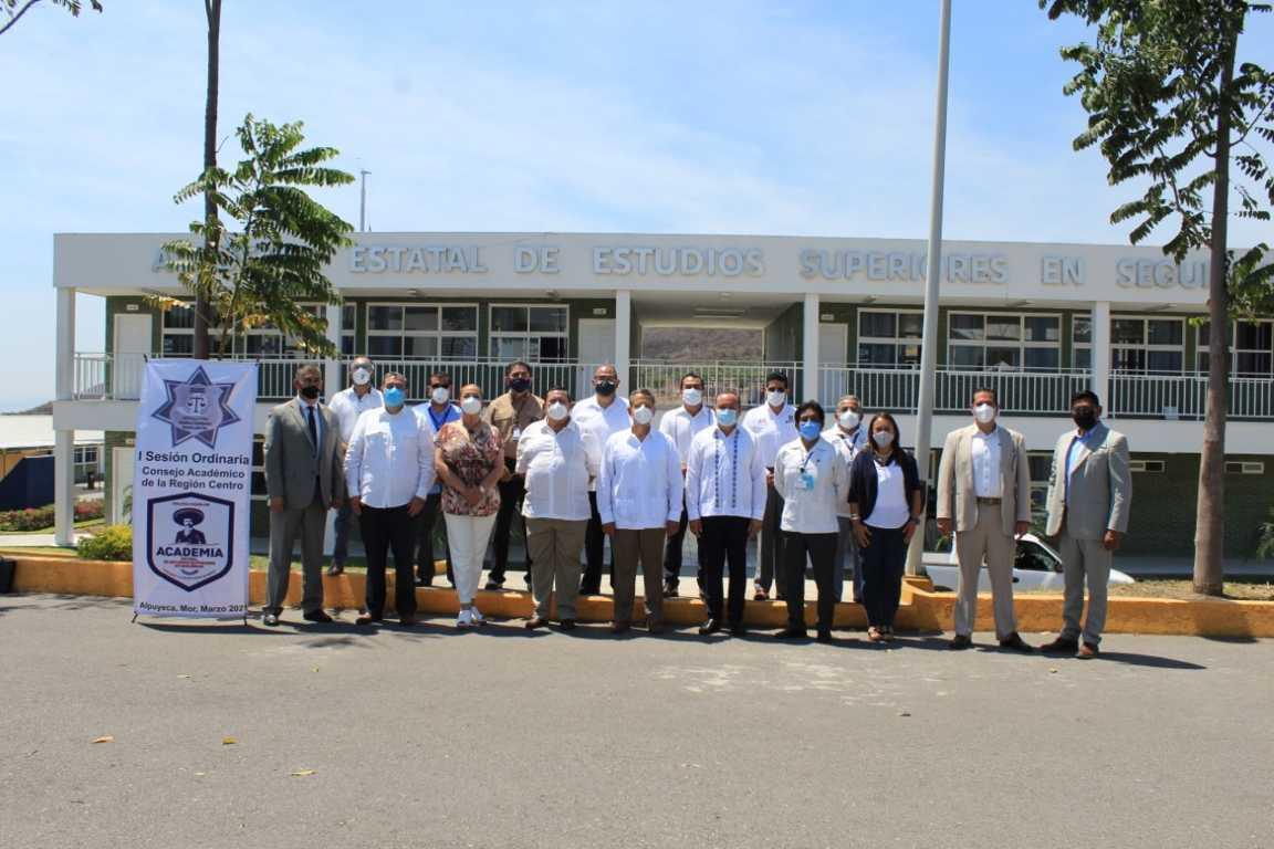 La SSC participa en Primera Sesión de Consejo Académico en Morelos