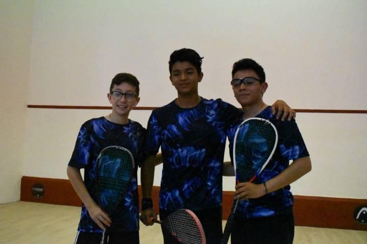 Suma el squash tlaxcalteca medallas en ON y NJ