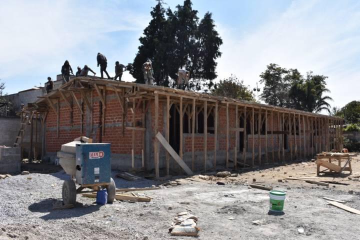 El kínder Margarita Maza de Juárez a un 60 % de avance en su construcción: TOA