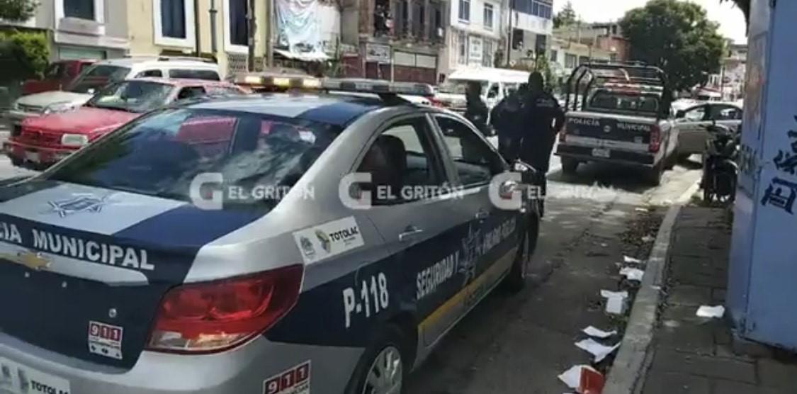 Confunden a policías con hampones en Tlaxcala capital